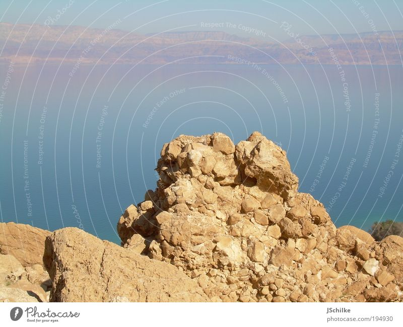 the rock Nature Landscape Water Mountain Peak Ocean The Dead Sea Desert Negev Natural Discover Multicoloured Exterior shot Deserted Day