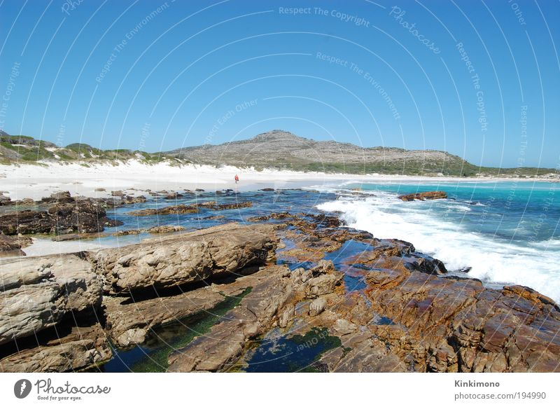Human being Man Nature Water Sun Ocean Summer Beach Adults Life Coast Sand Stone Earth Waves Wind