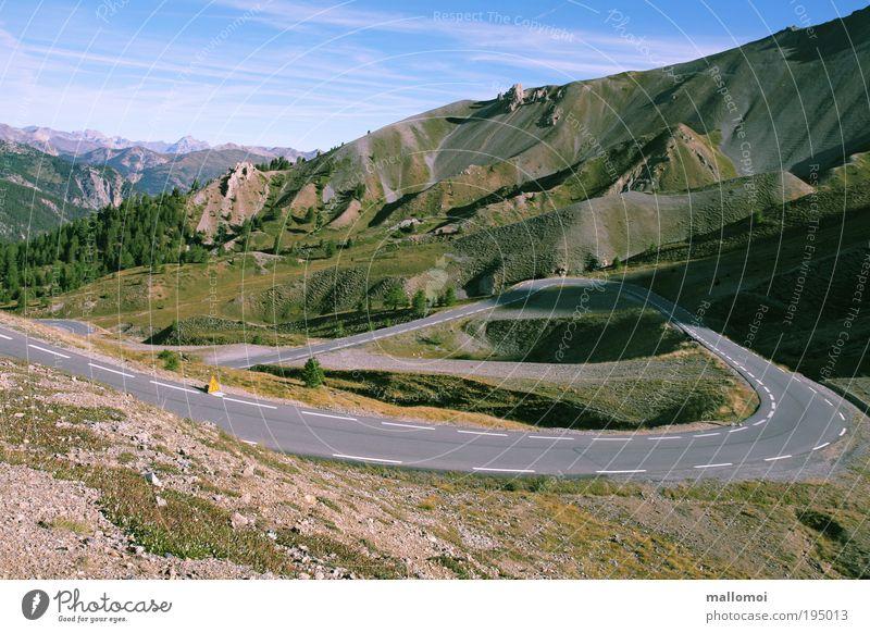 Vacation & Travel Far-off places Environment Landscape Street Mountain Lanes & trails Climate Trip Alps Beautiful weather Vantage point Peak