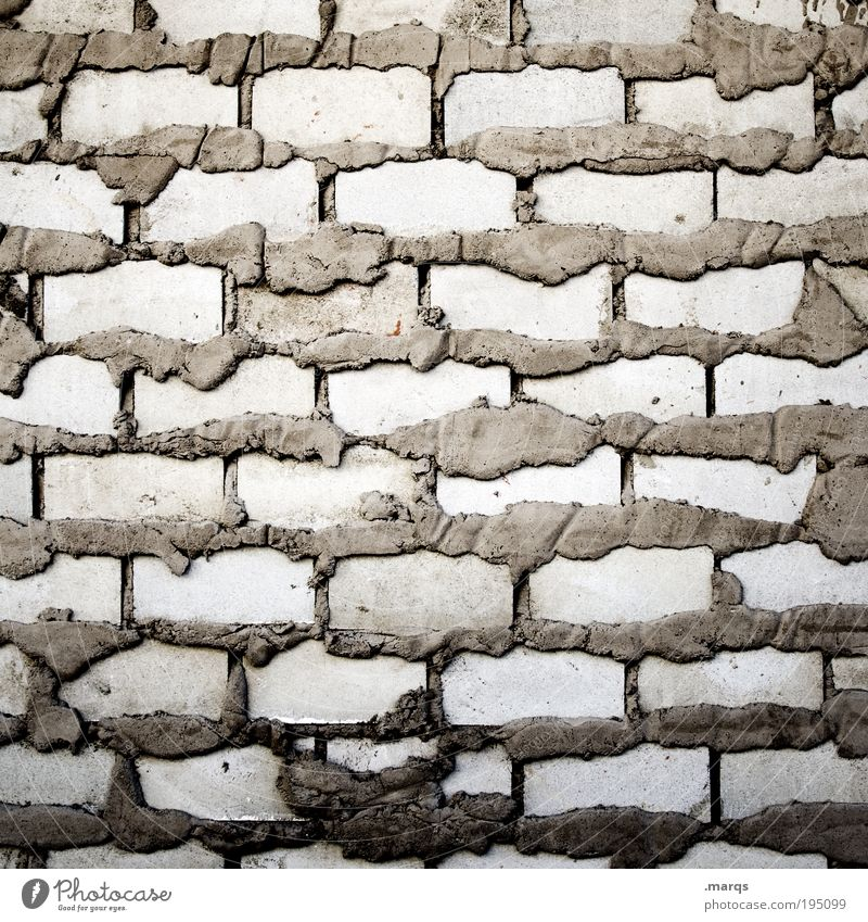 House (Residential Structure) Wall (building) Gray Wall (barrier) Planning Arrangement Construction site Living or residing Uniqueness Brick Craft (trade) Build
