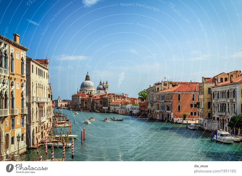 Venice - Santa Maria della Salute #2 Culture Water Spring Summer Autumn Winter Beautiful weather River Italy Europe Town Downtown Old town