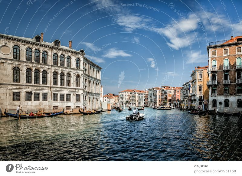 Canal Grande - Canale Grande in Venice #2 Culture Water Spring Summer Autumn Winter Beautiful weather River Italy Europe Town Downtown Old town