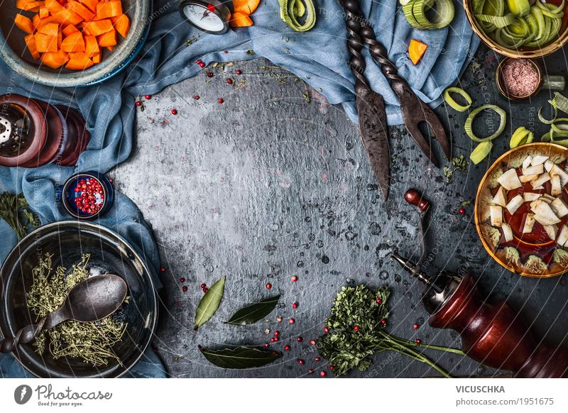 Healthy Eating Dish Food photograph Life Background picture Style Food Design Living or residing Nutrition Table Herbs and spices Kitchen Vegetable Organic produce Restaurant