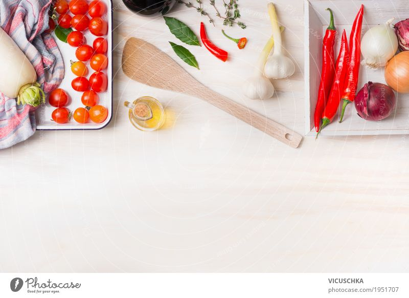 Healthy Eating White Food photograph Life Healthy Style Food Design Living or residing Nutrition Table Herbs and spices Cooking Kitchen Organic produce Restaurant