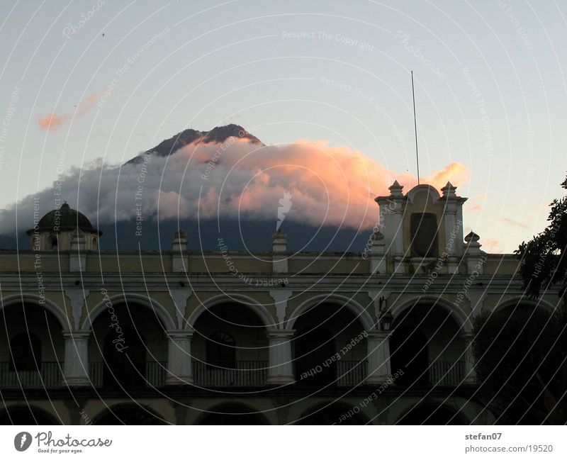 Clouds in paradise Antigua Guatemala