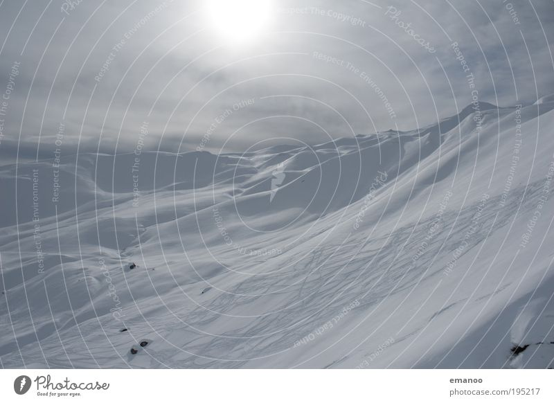 Sun Winter Joy Cold Snow Mountain Alps Tracks Peak Switzerland To enjoy Events Winter sports Freestyle Endurance Snowcapped peak