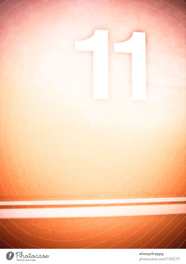 Excessiveness or eleven-string harp? Art Work of art Metal Digits and numbers Communicate Red White Colour photo Exterior shot Experimental Abstract