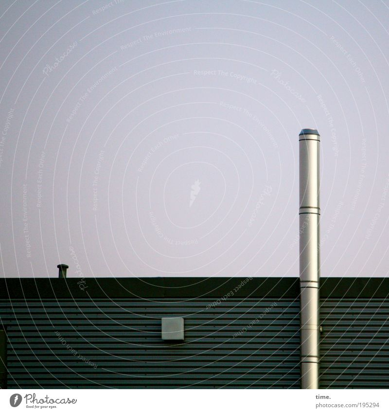 Home improvement rocket, says Lukas Chimney House (Residential Structure) Storage Shaft Covers (Construction) Glittering conduit Vertical Colour photo