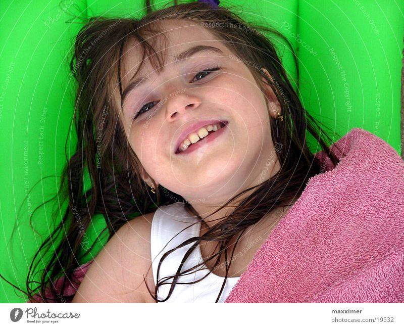 lotta Girl Vacation & Travel Child wet hair Laughter