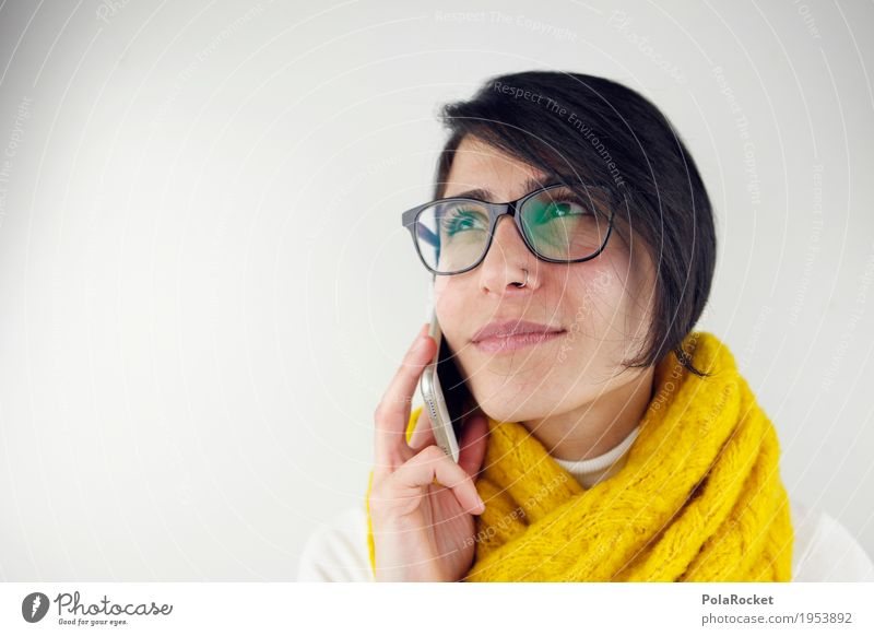 Human being Woman To talk Happy Think Communicate Success Perspective Telephone Profession Advertising Contact Career Date To call someone (telephone) Competent