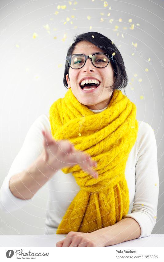 #A# surprise Art Work of art Esthetic Joy Comical Funster The fun-loving society Bonfire Joybringer Confetti Scarf Eyeglasses Person wearing glasses Party