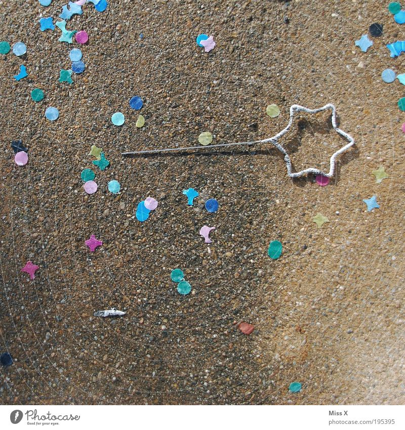 JingleT's last sparkler Sparkler Party End Confetti celebrations star-shaped