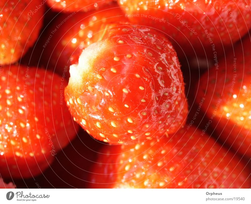 strawberry Summer Red Healthy Nutrition Strawberry Fruit Vegetarian diet