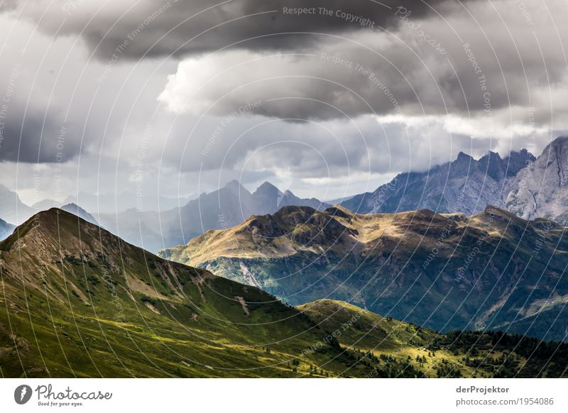 Storms in the Dolomites Vacation & Travel Tourism Trip Adventure Far-off places Freedom Mountain Hiking Environment Nature Landscape Plant Animal Summer