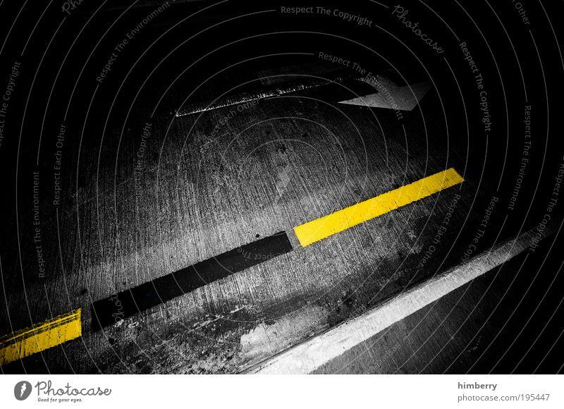 Street Lanes & trails Line Background picture Concrete Design Transport Logistics Asphalt Tunnel Traffic infrastructure Motoring Passenger traffic Road traffic