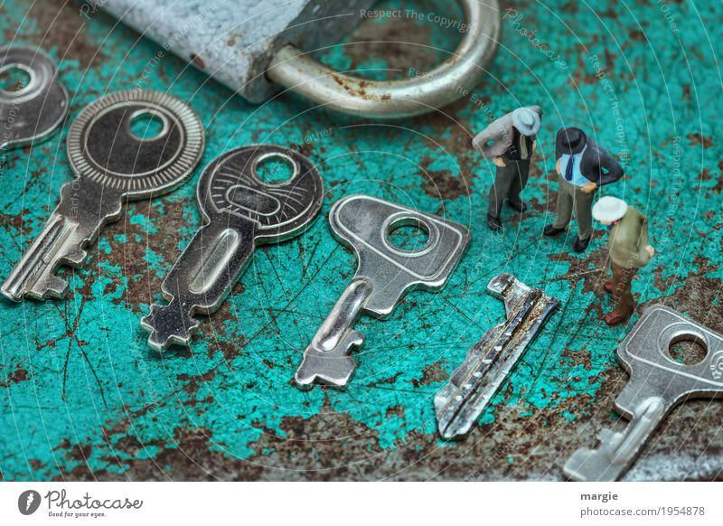 Miniwelten - What now? Work and employment Profession Craftsperson Workplace Construction site Services Team Tool Technology Human being Masculine Man Adults 3