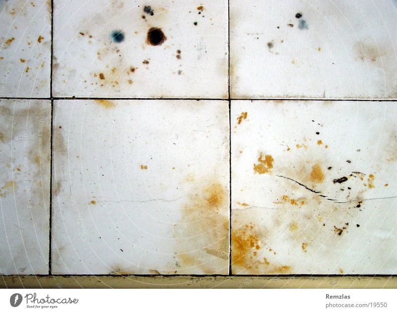 Old tiles Laboratory Medical practice Acid Abrasion Surface Grid Things Tile Patch