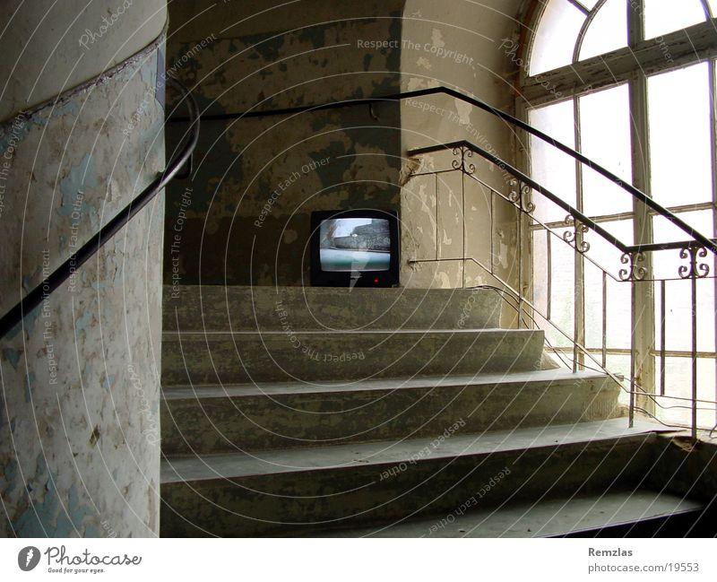 Old Art Architecture Stairs TV set Castle Weimar Ettersburg