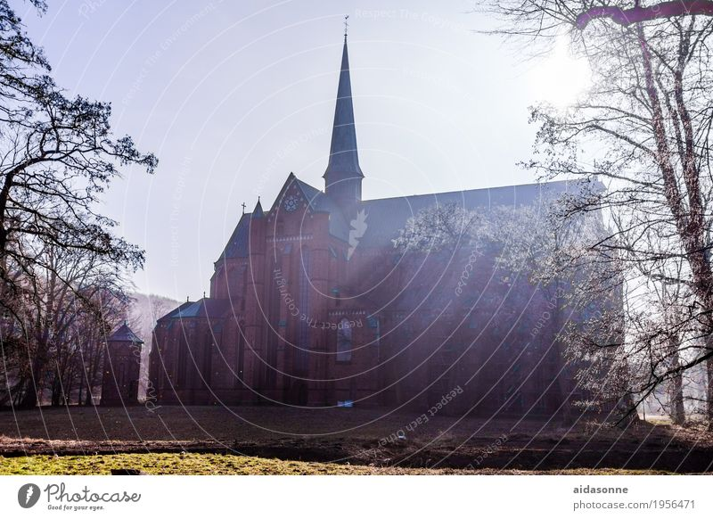 cathedrals bath doberan Germany Deserted Church Tourist Attraction Landmark Contentment Calm Hope Belief Humble Colour photo Exterior shot Day Sunbeam