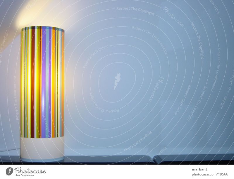 lamp Lamp Stripe Furniture Style Living or residing
