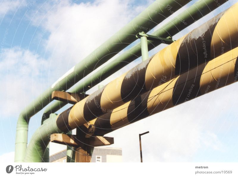 Water Green Industry Iron-pipe Transmission lines Warm water