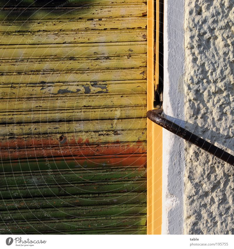 Old White Green Red Black House (Residential Structure) Yellow Wall (building) Emotions Wood Stone Building Wall (barrier) Metal Door Dirty
