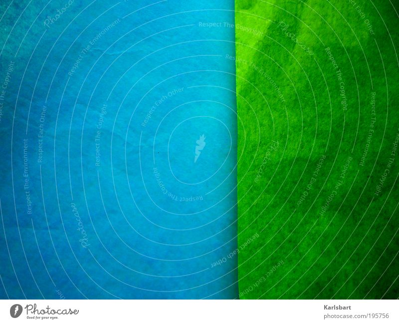 Sky Nature Blue Green Style Line Art Abstract Leisure and hobbies Power Design Paper Academic studies Lifestyle Living or residing Stripe