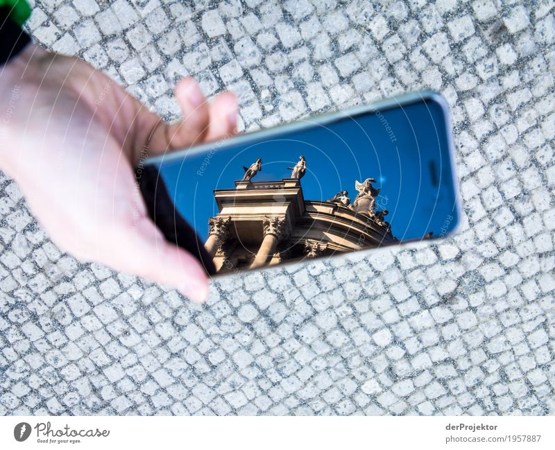 Vacation & Travel Hand Joy Architecture Berlin Building Tourism Trip Hiking Places Curiosity To go for a walk Manmade structures Discover Tourist Attraction