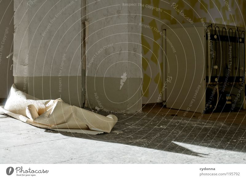 Calm Loneliness Life Wall (building) Style Dream Sadness Wall (barrier) Room Door Time Lifestyle Future Change Living or residing Transience