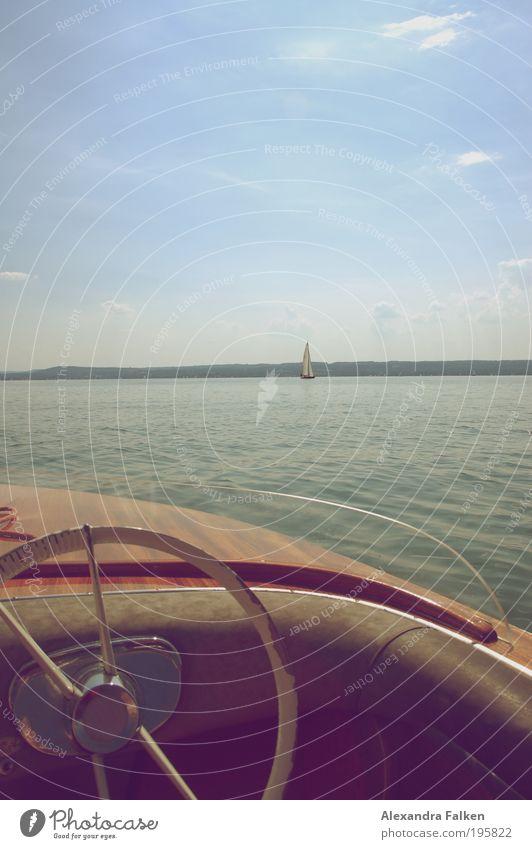 Nature Water Sky Sun Summer Calm Relaxation Lake Watercraft Horizon Kitsch Harbour Discover Sailing Bavaria Navigation