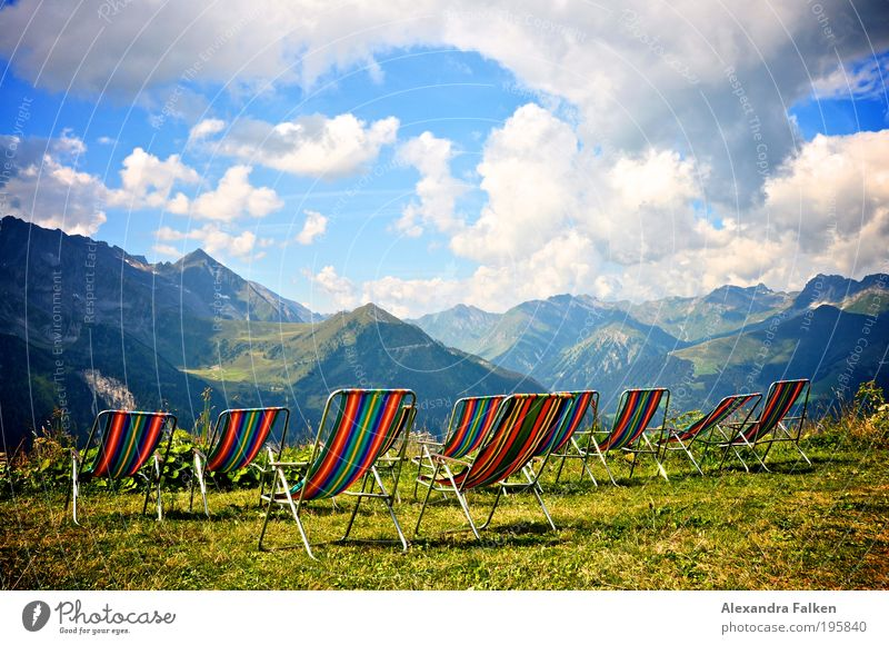 Sky Sun Summer Vacation & Travel Calm Clouds Relaxation Mountain Freedom Landscape Contentment Hiking Weather Horizon Trip Wellness