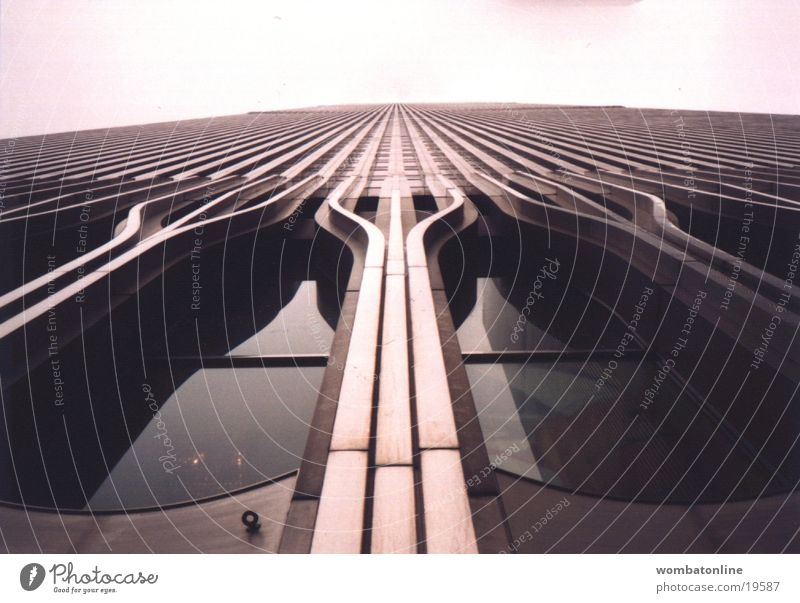 Architecture Facade High-rise Modern Upward Vertical New York City Section of image Partially visible Vanishing point Skyward World Trade Center Building line