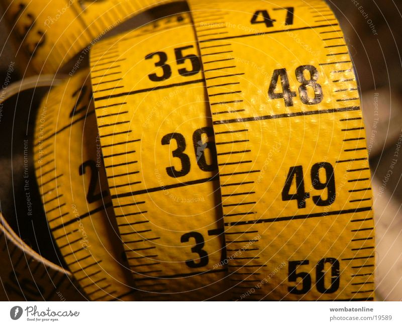 Digits and numbers Craft (trade) Meter Scale Size Tape measure Length