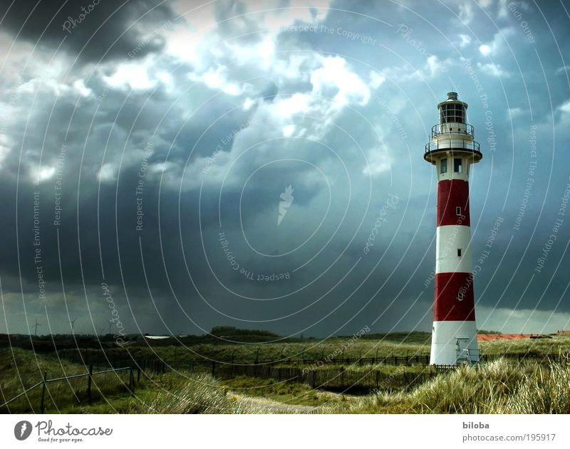 White Green Red Black Emotions Architecture Gray Wild Manmade structures Gale Services Landmark Lighthouse Navigation Copy Space left Tourist Attraction