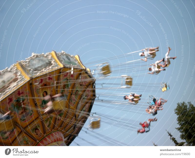 Joy Group Carousel Flying Fairs & Carnivals Chairoplane