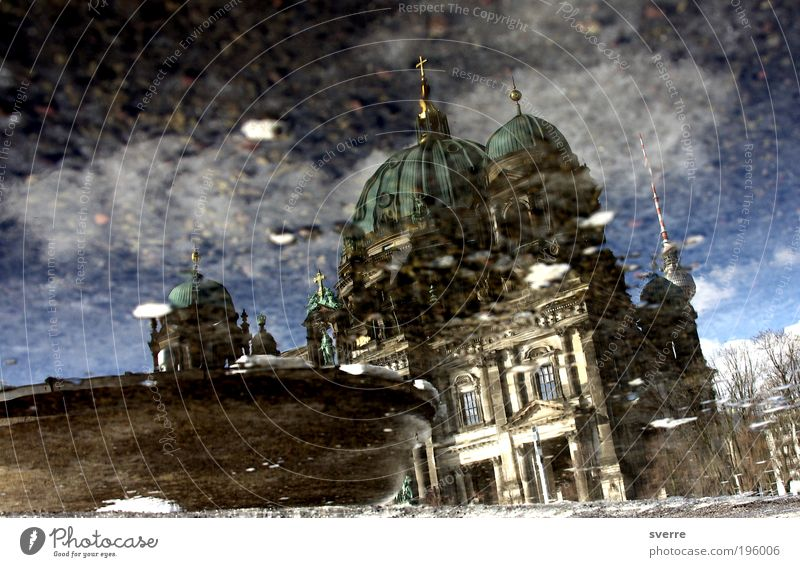 Water Architecture Berlin Safety Protection Mirror Crucifix Belief Force Key Dome Tourist Attraction Capital city Vice Reflection