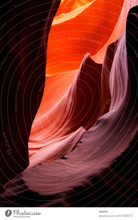 Nature Red Calm Yellow Landscape Brown Mountain Gold Earth Violet Warm-heartedness Canyon Light Multicoloured Antelope Canyon