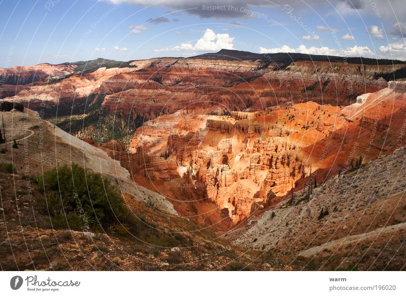 Nature Sky Calm Clouds Landscape Environment Earth Wanderlust Canyon Mountain