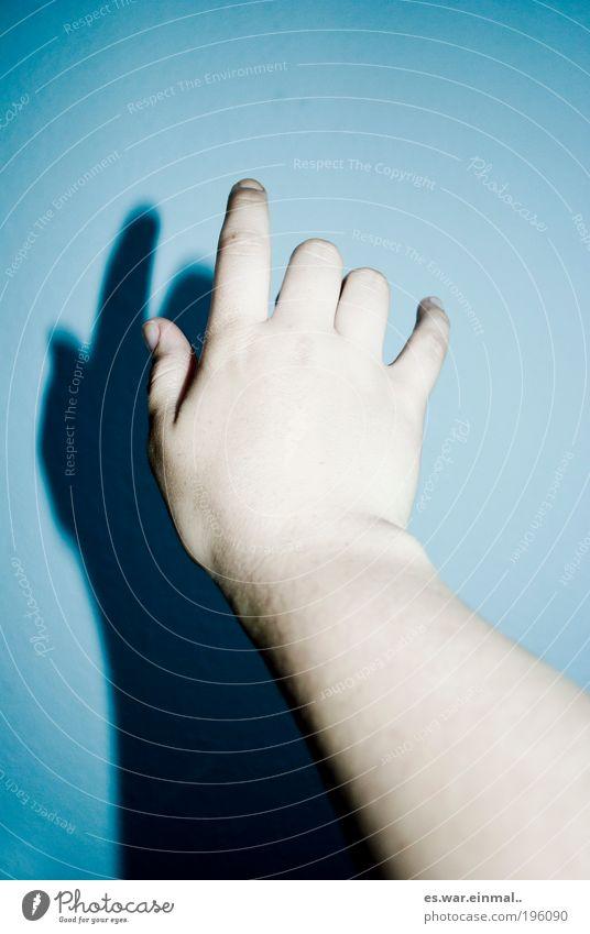 Blue Hand Loneliness Sadness Dream Arm Crazy Empty Sleep Hope Communicate Touch Longing Belief Creepy Wanderlust