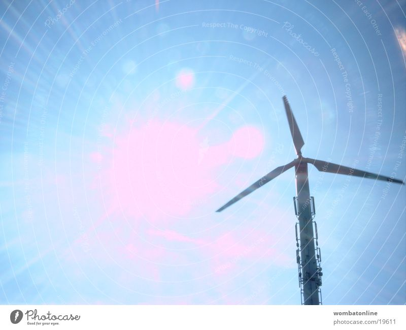 giants Propeller Wind energy plant Light Solar Power Science & Research Sun Energy industry Renewable