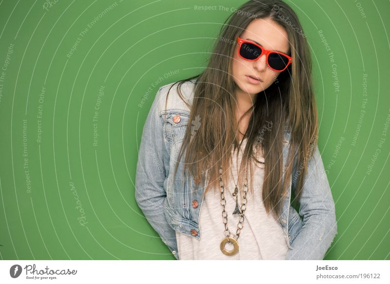 sunglasses at night Lifestyle Style Beautiful Face Night life Feasts & Celebrations Human being Young woman Youth (Young adults) Woman Adults Head
