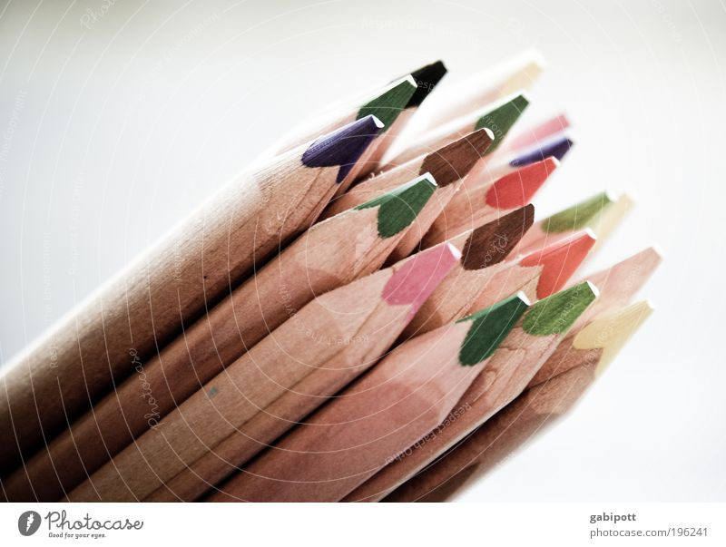Colour Dye Gloomy Painting (action, artwork) Creativity Draw Kindergarten Education Parenting Artist Painter Optimism Colorless Crayon Image editing Human being