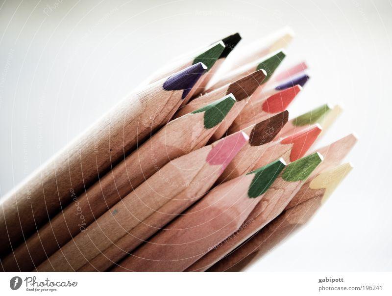 Don't do it too colorful! ... Kindergarten Artist Painter Painting (action, artwork) Draw Crayon Colour Colour palette Multicoloured Optimism Creativity Dye