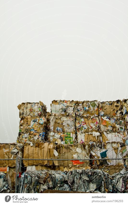Paper Trash Collection Cardboard Accumulation Recyclable material Recycling Environment Economy Dispose of Raw materials and fuels Waste paper Throw away Cellulose Inventory Paper mill