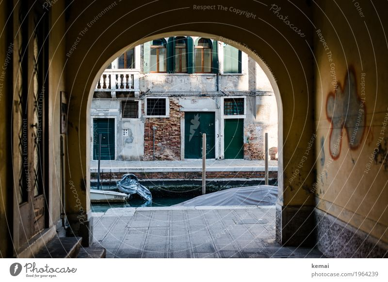 Vacation & Travel Loneliness House (Residential Structure) Calm Window Dark Wall (building) Wall (barrier) Tourism Facade Trip Door Authentic Adventure Italy