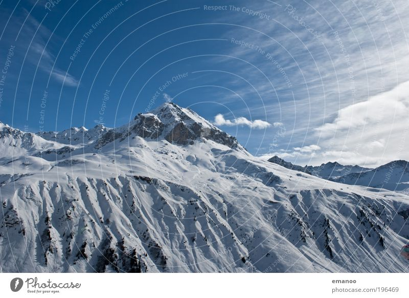 Sky Nature Vacation & Travel Blue Landscape Winter Mountain Cold Snow Freedom Ice Leisure and hobbies Tall Trip Peak Frost