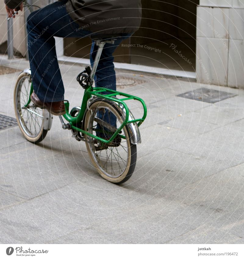 Green Joy Life Movement Legs Feet Contentment Bicycle Climate Masculine Transport Driving Bottom Mobility Effort Cycling
