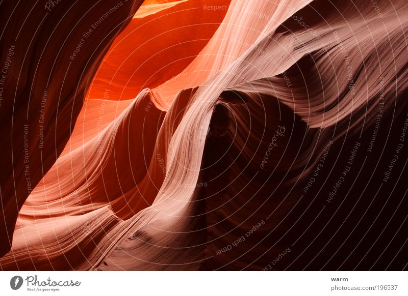Nature Calm Landscape Contentment Environment Earth Mountain Serene Wanderlust Canyon Emotions Antelope Canyon
