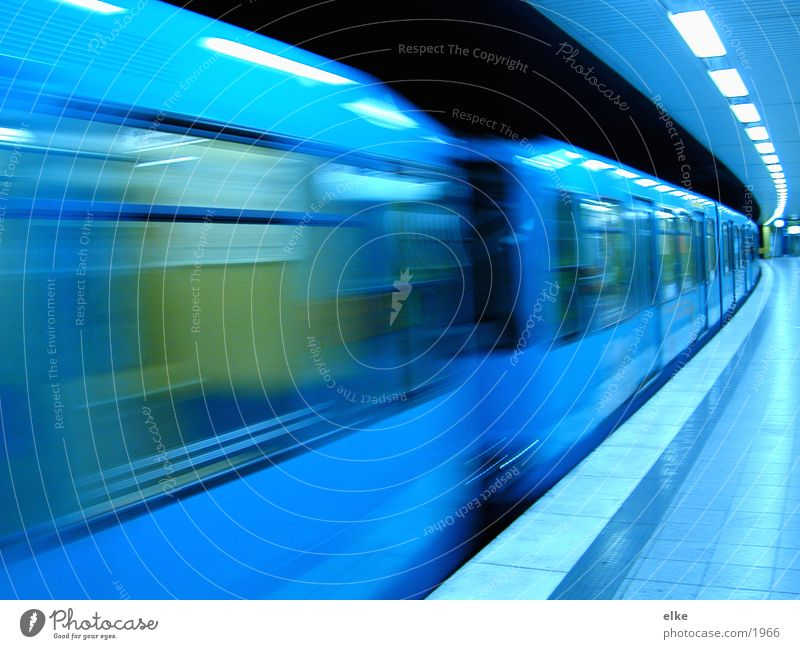 Window Movement Transport Railroad Underground Ski-run