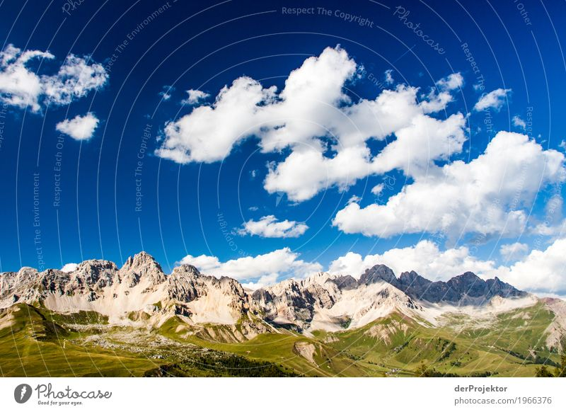Clouds and shadows in the Dolomites IV Central perspective Deep depth of field Sunbeam Sunlight Light (Natural Phenomenon) Silhouette Contrast Shadow Day